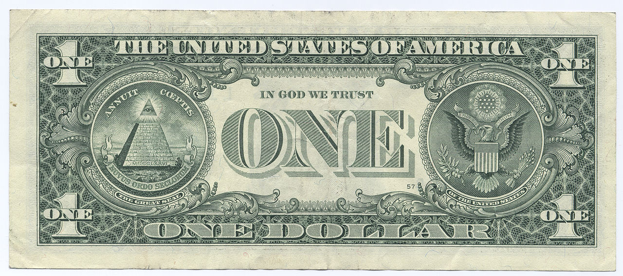 A picture of a single dollar, used right it can make you rich!