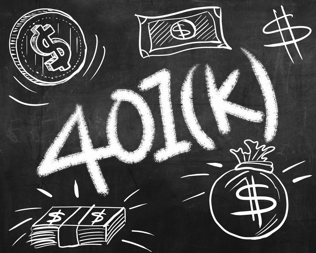 A graphic saying 401K, the employer-led retirement fund that may be the best investment that you ever make.