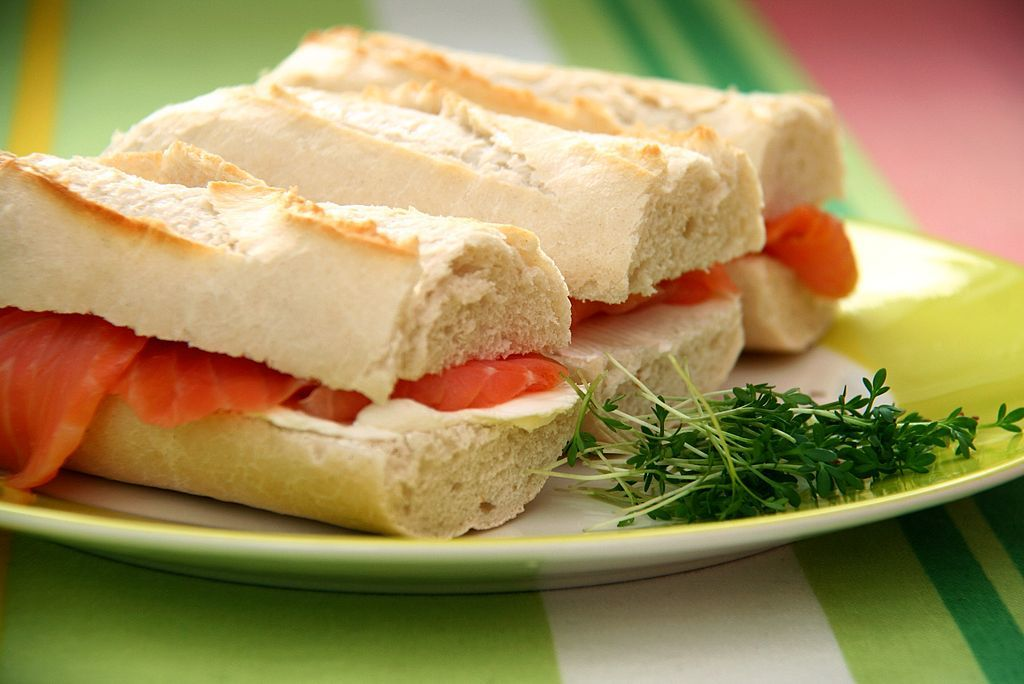 A picture of some lovely sandwiches. You can make economies without hurting your lifestyle and this is a great way to do it.