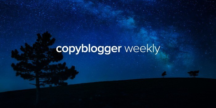 The logo for CopyBlogger whose owner makes $1 million a month blogging!