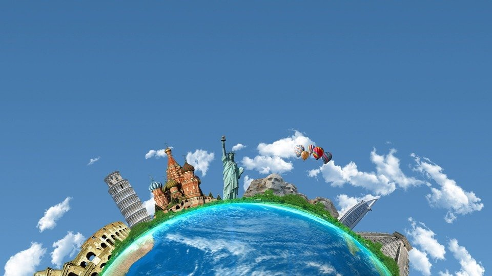 An image representing travel, it's possible to get paid while you move around the world with Grabr.