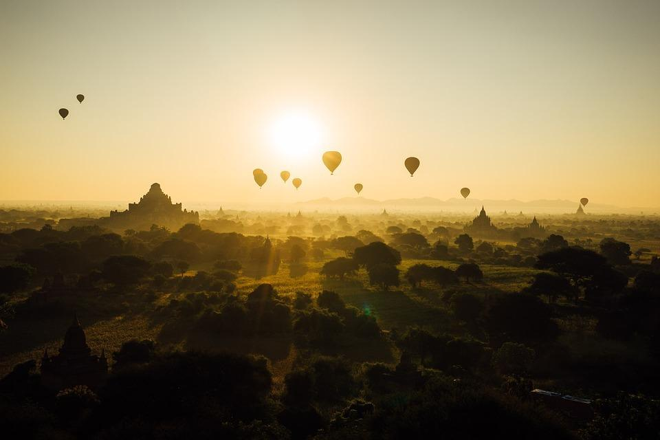 An image of Bagan in Myanmar where Darren and I went on a mini-retirement recently.