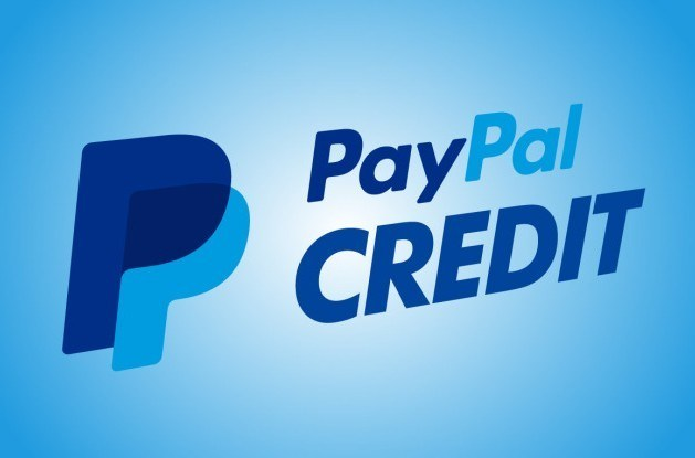 A picture of the PayPal credit logo. You can get seriously fast payments using this system.