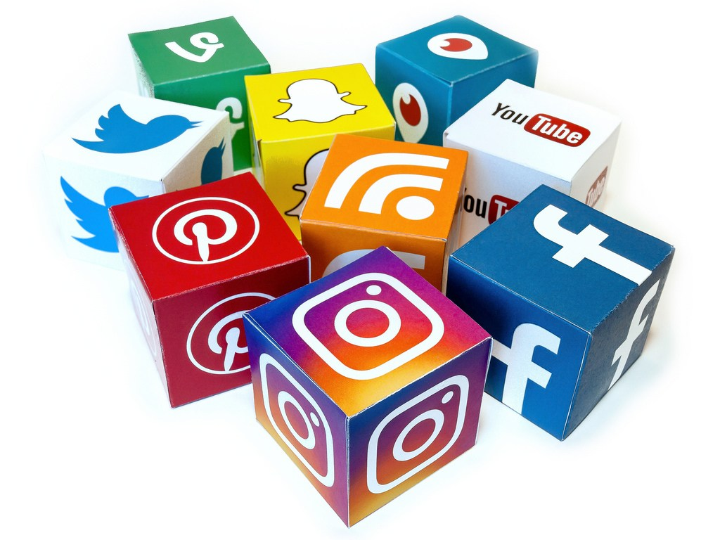 Social media icons. Social media can be a powerful tool to help you find work and get paid.