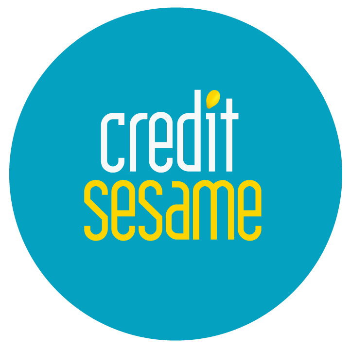 The logo of your helping financial hand. Credit Sesame.