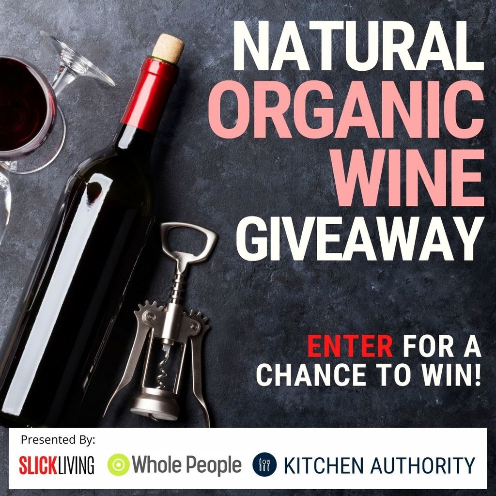 organic wine giveaway